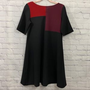 Julian Taylor Color Block Dress Size 8